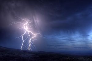 Lightning 2 by adamsimsphotography