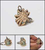 Facehugger Charm Commission by WispyChipmunk