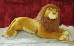 Giant Lion King Plush by toyjunkie1967