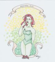 Poison Ivy by AkamaruAnime