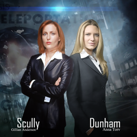Dunham and Scully by PZNS