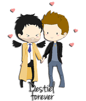 Destiel cuties by twistedlove