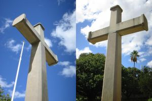 cross of stone by kayne-stock