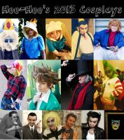 Happy New Year! 2013 Cosplays by xHee-Heex