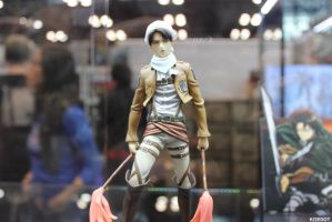 NYCC 2014: Levi figure with.. ATTITUDE! by Kitedot