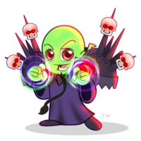Orc Warlock Chibi by Timmy-Toons