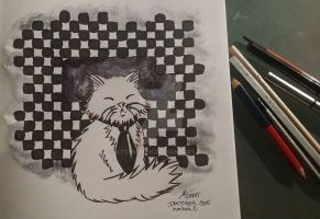 Inktober 2015 -day 2 by atsumimag