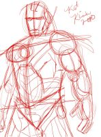 Iron Man sketch by katklich