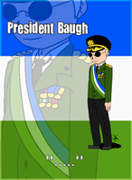 President Baugh by AyanoShao