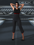 Stretching on Deck C by silverhammer