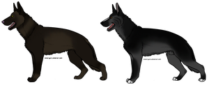 German Shepard Breedables by SoulOfWolves