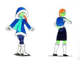 Requests 7 n 3 GITDP - Warm clothes School clothes by ask-kevlron