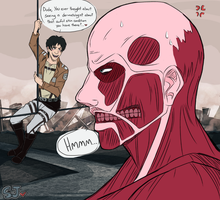SnK:  Dude...You're Hideous by SpaceJunkE