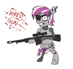 Hired Gun by glue123