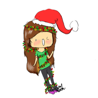 Christmas Me by Jelly0Bean