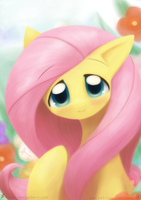 Weekly art#24 Fluttersmile by HowXu