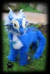 SOLD Hydro the baby water dragon poseable artdoll! by CreaturesofNat