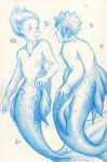 Mermen by adabaii