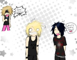 The gazette Comic by MaigoKo-KiTsuNe