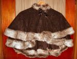 Fur edged Capelet by ksmith2696