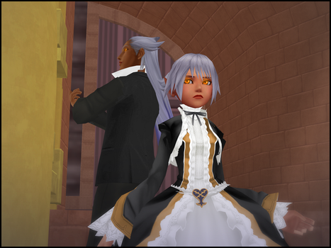 .:[MMD-KH] Rendezvous with Father:. by VulpesFelidaeMMD