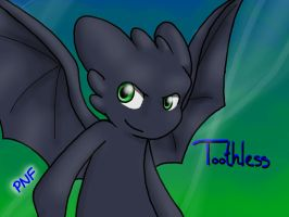 Toothless by KASAnimation
