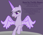 MLP Base 357 by Twiily-Bases