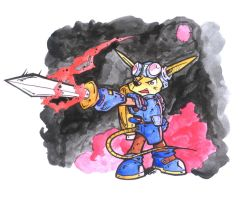 The Rocket Knight by NeterG