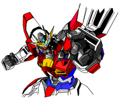 Build Burning Gundam Obari Style by RyugaSSJ3