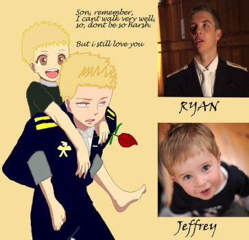 Ryan The Steadfast Tin Soldier And His Son Jeff by OUAT-Tin-Soldier
