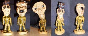 Zombies, Group 2 by aberrantceramics