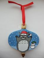 Totoro Christmas Ornament 2012 by LadyNin-Chan