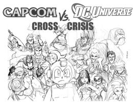 Capcom VS DCU by rugdog