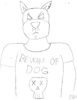 beware of dog by sundieu