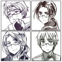 NO GLASSES by Cioccolatodorima