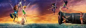 Tinkerbell and The Pirate Fairy d02 BestMovieWalls by BestMovieWalls