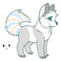Canine Adoptable .:Closed:. by Uhdopts