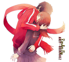 Shintaro y Ayano Render by Andy--Rodriguez