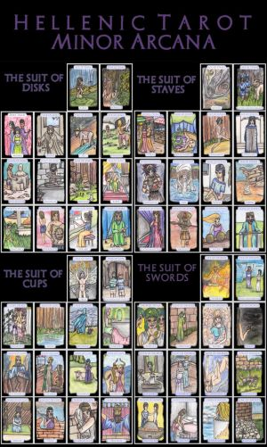 Hellenic Tarot Minor Arcana
