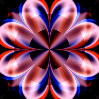 Psychedelic fractal flower by pavlusa