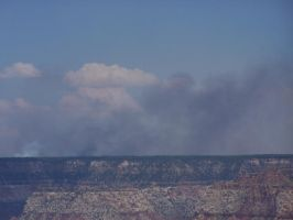 Smoke Across the Canyon 2 by borgking001a