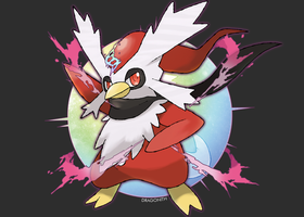 Mega Delibird by Dragonith
