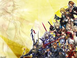 DISSIDIA Cosmos Heroes by LoveLoki