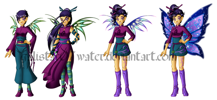 Yan Lin's Transformation Concept Art by Galistar07water