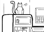 Tomcat: King of the fridge by TomcatArts
