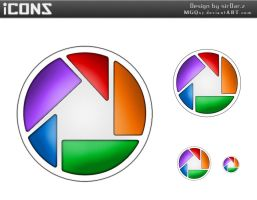 Google Picasa icons by MGQsy