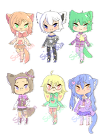 .:150pt CLOSED:. Collab Adopts by BunsDream