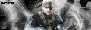 Metal Gear Solid 4 Snake Sig by thepatster