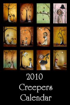 2010 'Creepers' Calendar by cZOA