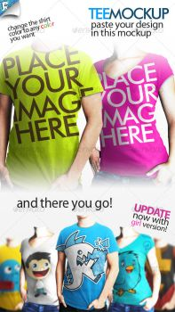 Tee Mockup - Your clothing by agodesa